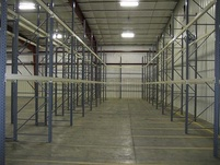 Warehouse Storage with Racking